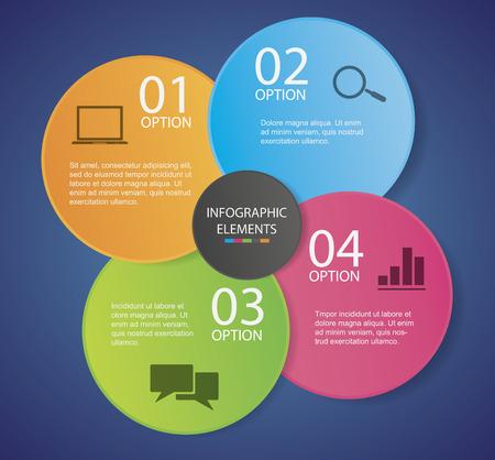 Infographic sjabloon Stock Illustratie