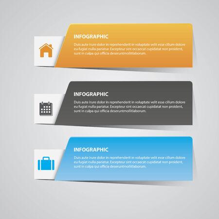 Modern Infographic Stock Vector - 27450631