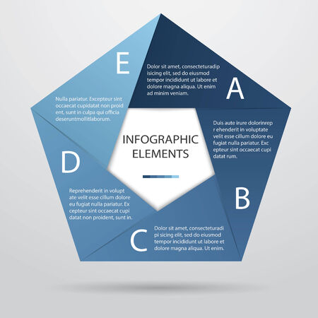 pentagonal: Pentagonal Infographic