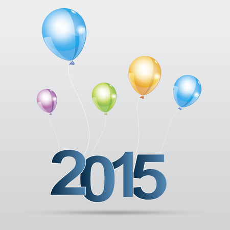 adjust: Happy new year 2015Easy to Edit , adjust color and size.