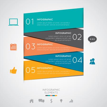 adjust: Modern Infographics Easy to Edit , adjust color and size. Illustration