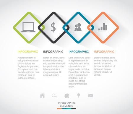 adjust: Modern Infographic  Easy to Edit , adjust color and size.