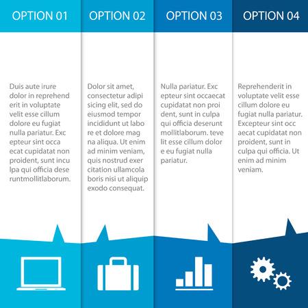 Moderne Infographics gemakkelijk te bewerken, aan te passen kleur en grootte.