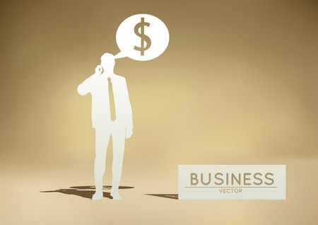 adjust: Modern Business Illustration  Easy to Edit , adjust color and size. Illustration