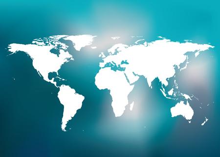 adjust: World map  Easy to Edit , adjust color and size.