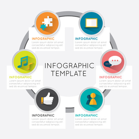 Abstract Infographic Royalty Free Cliparts, Vectors, And Stock ...