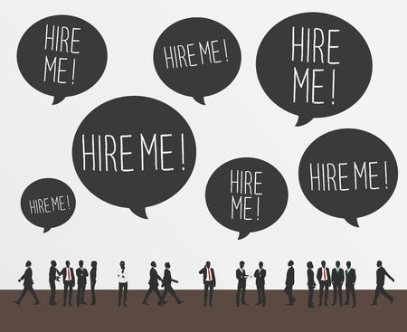 unemployment: unemployment Vectores