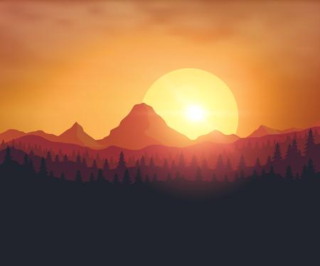 sun background: Beautiful sunset background
