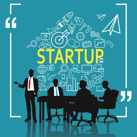 business: Business meeting for business startup
