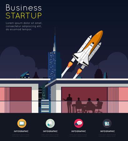 smart goals: Business meeting for start up concept