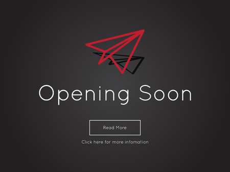 alerts: Opening Soon for website template