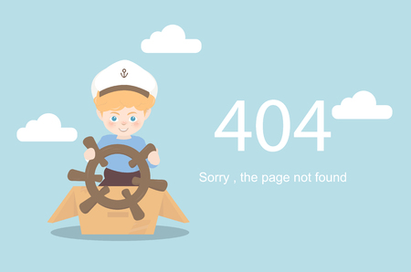 page not found: Page Not Found Error 404.Vector template