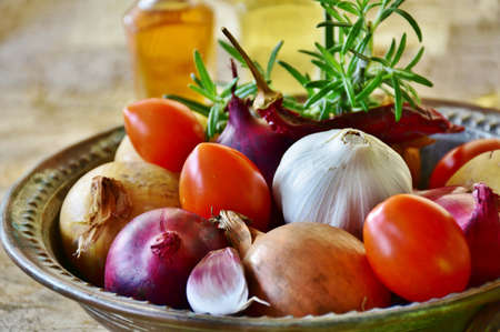 A image of tasty vegetable on the table. Stockfoto