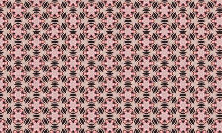 A beautiful image of seamless pattern. Stock Photo