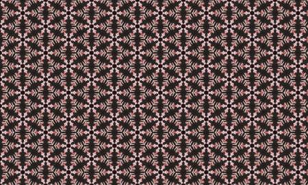 A Seamless illustration geometric strip pattern. Stock Photo