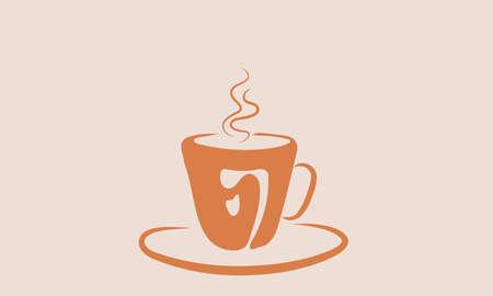 A vector illustration of hot Tea.
