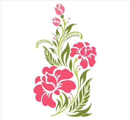 A illustration of Floral pattern design