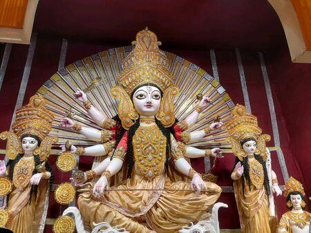 Durga puja kolkata Stock Photo