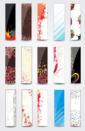 Vertical banners Stock Vector - 12945307