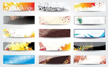 Banners glossy   Vector