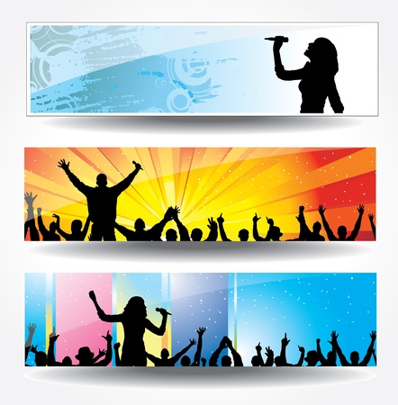 Advertising banners Vector