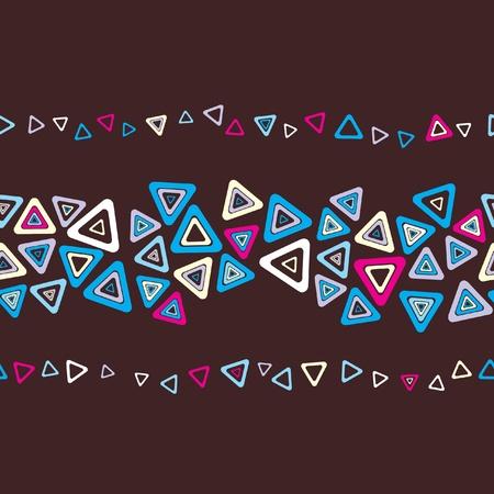 harmonious: Seamless stylish stripe  Illustration