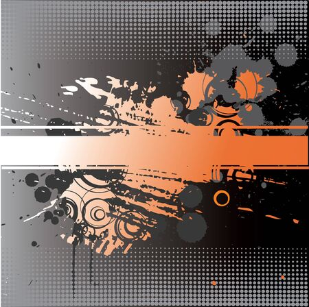 Stylish abstract grunge background  Vector