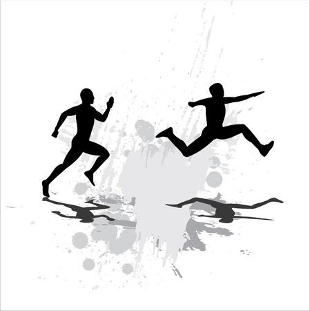 road runner: Jump Illustration