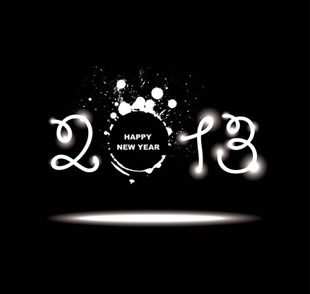 New year 2013 design  Stock Vector - 16457071