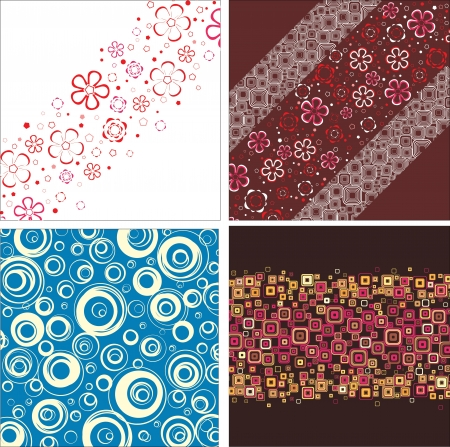 Set classical backgrounds Stock Vector - 16477888