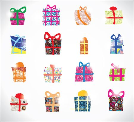 Set  gifts Stock Vector - 16702246