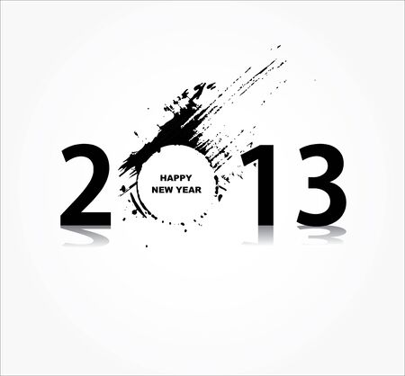 New year 2013 design Stock Vector - 16953076