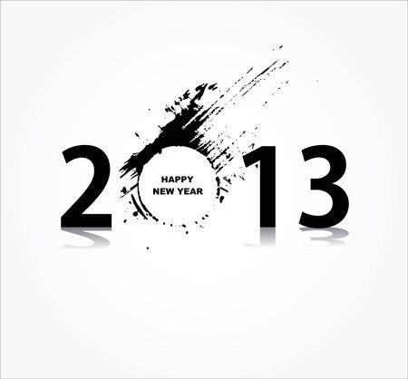 New year 2013 design Stock Vector - 16953076
