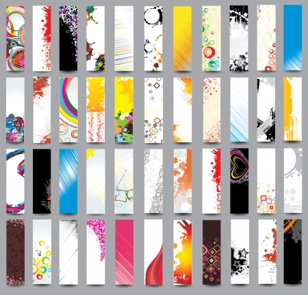 Collection Vertical banners Stock Vector - 18302152