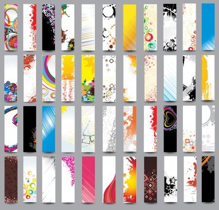 website header banner: Collection Vertical banners