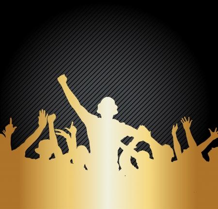 torneio: Cartaz para campeonatos esportivos e shows de m�sica Ilustra��o
