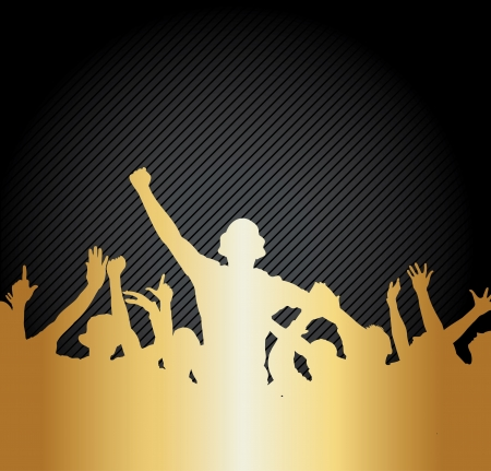 Poster for sports championships and music concerts Vector