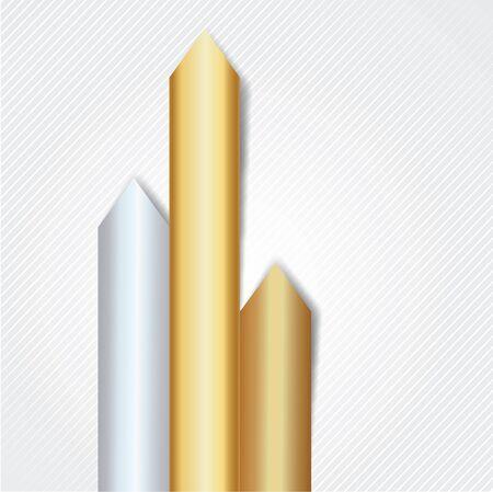 phonographic: Arrows of precious metals