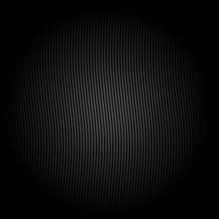 mechanical radiator: Corduroy black background Illustration