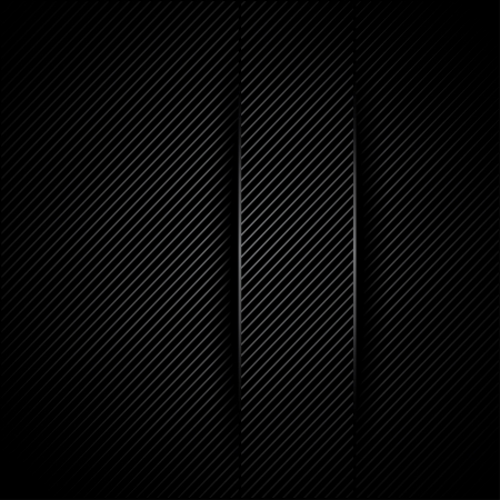 mechanical radiator: corduroy black background