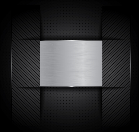 metal background Stock Vector - 20177013