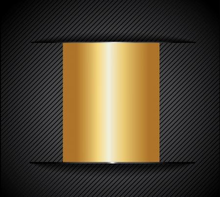 Gold metal background Stock Vector - 20177002