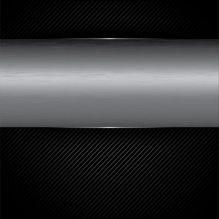 chrome metal background Stock Vector - 20177010