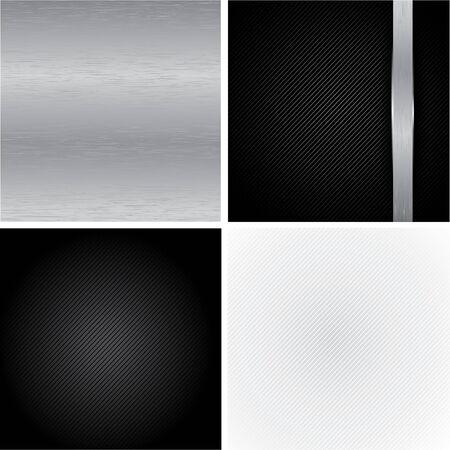 Set Metal Backgrounds