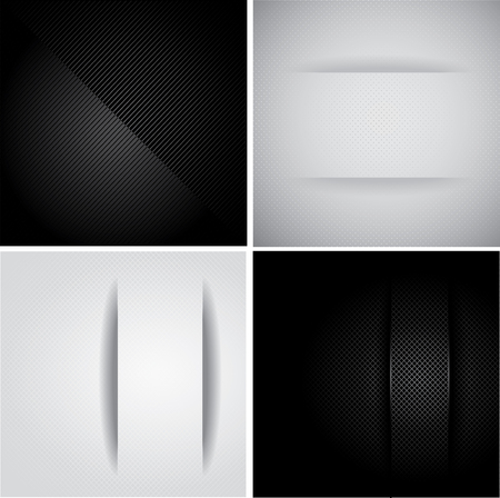 Set stylish minimal Backgrounds Vector
