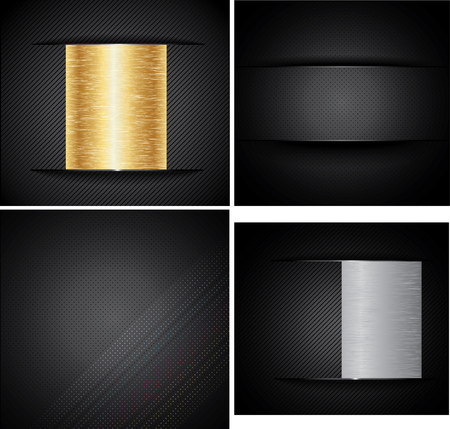 corduroy: Set Metal Backgrounds