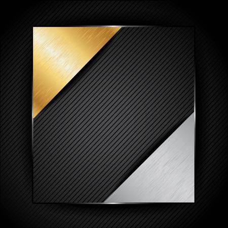 precious metal: Precious metal  Vector Background