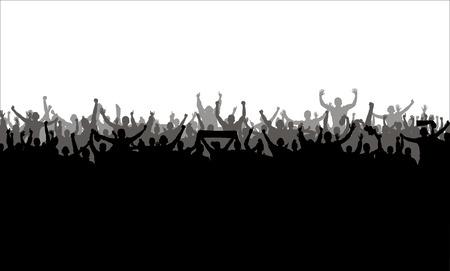 porrista: Cartel para campeonatos deportivos y conciertos