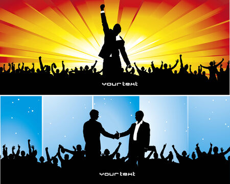 life partner: Posters for a successful business