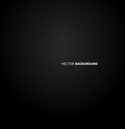 Chrome black background. Stock Illustratie